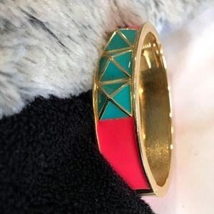 3/$25!! Pink & teal chunky bracelet